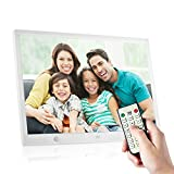Andoer 15 Inch Digital Picture Frame 1280x800 HD Digital Photo Frame with Motion...