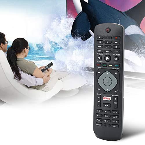 TV-afstandsbediening, ABS Vervanging van hoogwaardige slimme afstandsbediening voor HOF16H303GPD24 TV/NETFLIX-TV 398GR08BEPHN0012HT/398GR08BEPHN0011HL, draadloze afstandsbediening