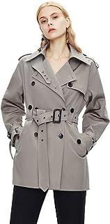 Grneric Ventbreaker di Media Lunghezza l'autunno delle Donne e l'inverno Nuova Boutique di Cappotto Hepburn l'atmosfera di...