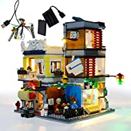 GEAMENT LED Light Kit for Townhouse Pet Shop & Café - Compatible with Lego Creator 3 in 1 31097 Toy ...