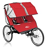 Baby Jogger 68723 Performance Series Double Jogging Stroller in Red / Silver