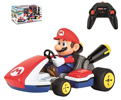 Carrera RC Mario Kart - Mario Race Kart – Ferngesteuertes Rennauto für drinnen & draußen – Elektro-Auto mit Sound für Kinder ab 6 Jahren & Erwachsene