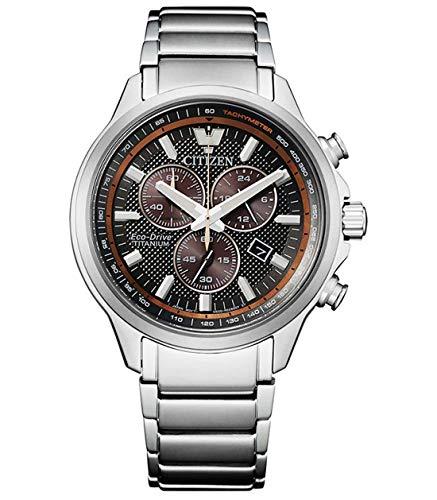 Citizen Reloj Cronógrafo para Hombre de Cuarzo con Correa en Titanio AT2470-85H