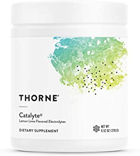 Thorne Research - Catalyte (Lemon LimeFlavored) - Electrolyte Replenishment and Energy Restoration Supplement - No Artificial Sweeteners - NSF Certified for Sport - 9.52 oz
