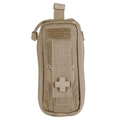 5.11 Taktische kompakte MOLLE Med Tasche, 7,6 x 15,2 cm, SlickStick-kompatibel, Hot-Pull-Tab, Erste-Hilfe-Taschen, wasserabweisendes Nylon EDC-Kit, Stil 56096, Sandstone