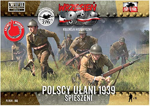 FTF 1/72 ポーランド軍 ウーラン騎兵部隊 歩兵戦闘 15体セット プラモデル PF72066
