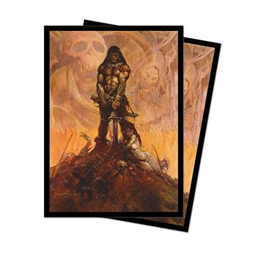 Frank Frazetta Art Series Barbarian Deck Protector Sleeves (100 Count)