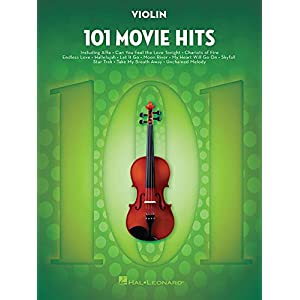 101 Movie Hits -For Violin-: Noten, Sammelband für Violine