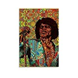 XUCU James Brown Legend Superstar Poster dekorative Malerei
