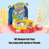 バンパーカーアセンブリおもちゃ、素晴らしいギフトのためのバンパーカーおもちゃDIYアセンブリ(DIY assembled bumper car)