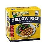 Jambalaya Girl Yellow Rice Seasoned Rice Blend, 8 oz (4 pack) • Gluten Free • Seasoned with Turmeric
