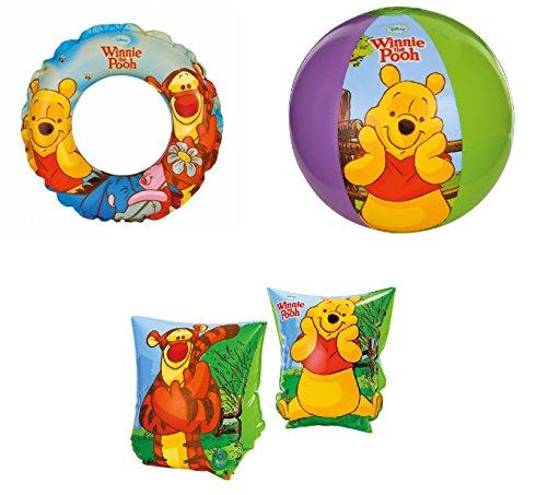 Kit N 1Mare - Reposabrazos con bola de Winnie The Pooh para niño