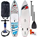 F2 Wave Windsurf Stand Up Paddle Board Set 800166 Grey/Blue - 320 cm