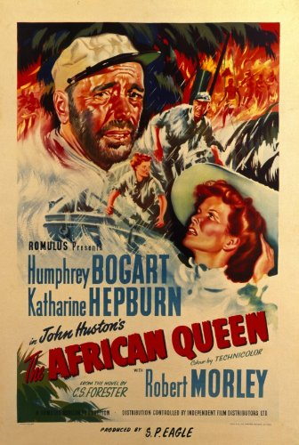 The African Queen - Movie Poster - 11 x 17