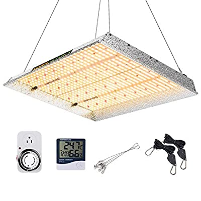 MARS HYDRO TSW 2000W Led Grow Light 3x3 4x4ft Coverage Full Spectrum Growing Lamps for Indoor Plants Daisy Chain Dimmable Veg Bloom Light for Hydroponics Greenhouse Indoor LED Grow with 684pcs LEDs