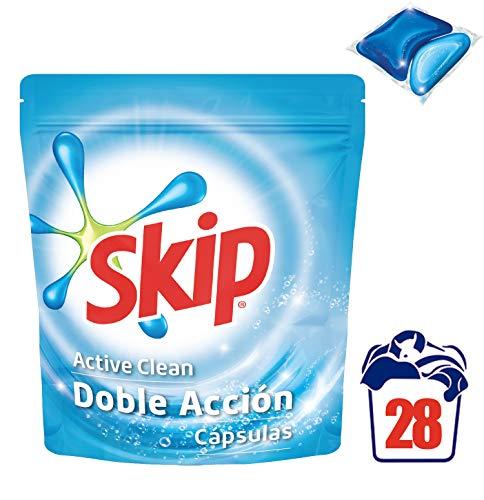 Skip Active Clean Detergente Cápsulas para Lavadora – 28 lavados