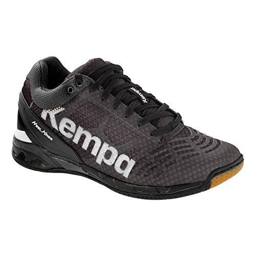 Kempa Attack Midcut Schwarz/Weiß, Farbe:schwarz/weiß, Größe:50