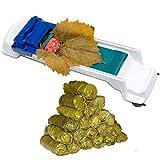 RD Royal Cook Maquina para hacer rollos de Hojas de Parra, hojas de Arroz, lechuga, acelga, espinaca, poro, algas marinas y más. Maquina para rollos de comida árabe y Sushi.