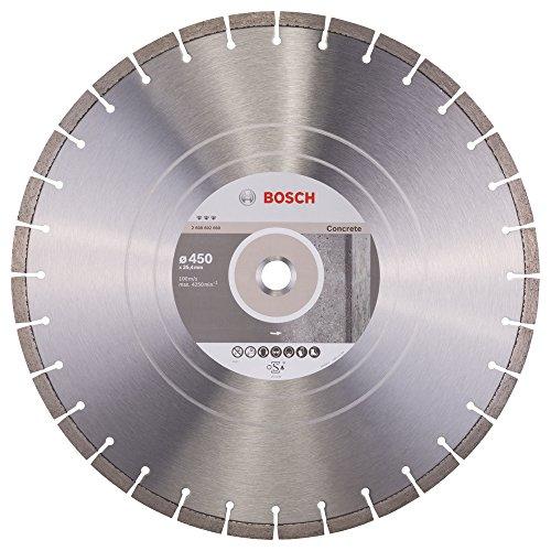 Bosch Professional Diamanttrennscheibe Best für Concrete, 450 x 25,40 x 3,6 x 12 mm