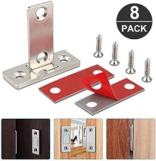 Jooheli - Cierre magnético para armario, 8 unidades, ultrafino, cierre magnético para puerta, cajón, imán para puerta, cierre magnético