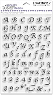 STAMPENDOUS CALLIGRAPHY ALPHABET - CLEAR SET - SSC015