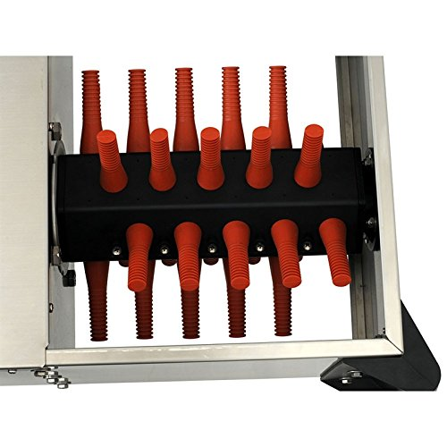 Rupfmaschine 0.5PS – 230V mit 30 Rupffingern - 2