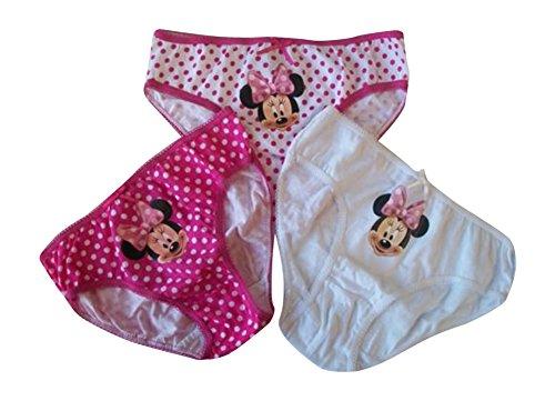 3 Paare von Jungen und Mädchen Marvel Superheld 100% Baumwolle Unterhose Slips in 3 Größen (Peppa Pig, 6-8)