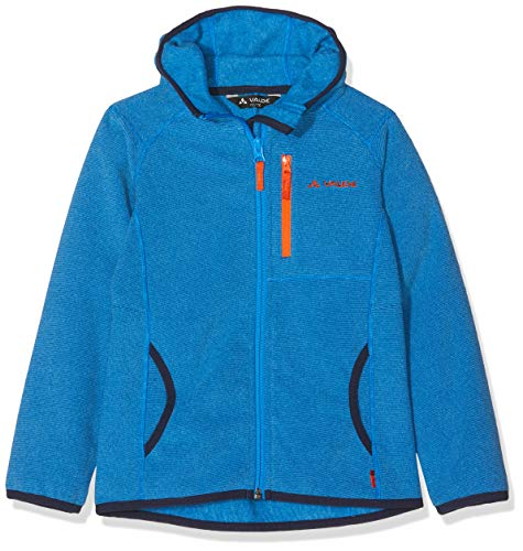 VAUDE Kinder Katmaki Fleece Jacket Jacke, blau (radiate blue), 98
