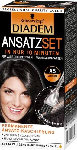 Diadem Ansatzset A5 Schwarz, 3er Pack (3 x 1 Stück)