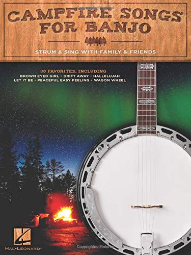 Campfire Songs for Banjo: Strum & Sing with Family & Friends ~ TOP Books