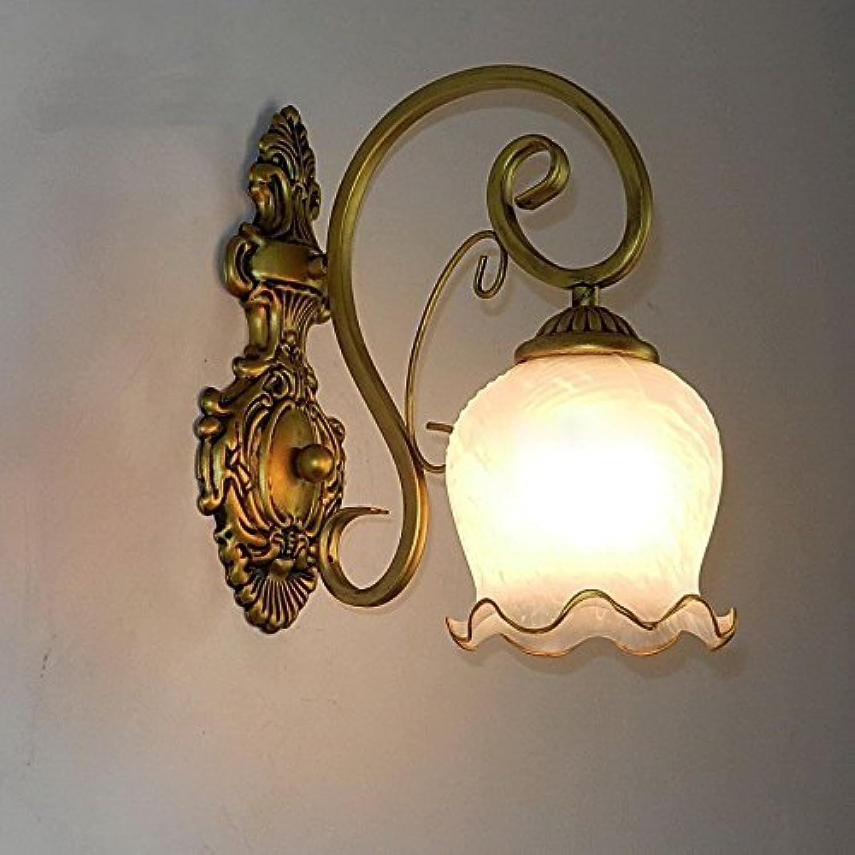 Zhang Yan ZYY Europischen Klassischen Wohnzimmer Wandlampen Vintage Eisen Schlafzimmer Esszimmer Wandleuchte Korridor Balkon Wandleuchte