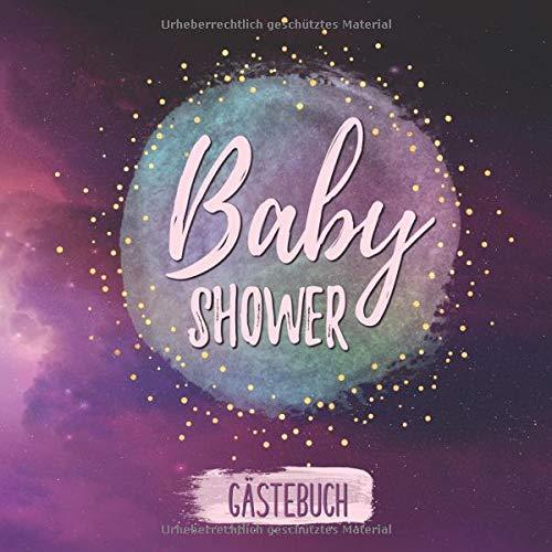 Baby Shower Gästebuch: Buntes Erinnerungsalbum für die Babyparty | Erinnerungsbuch als Geschenk...