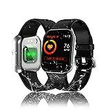 Tipmant Smartwatch, Fitness Armband mit Pulsmesser Blutdruckmessung Voller Touchscreen Fitness...