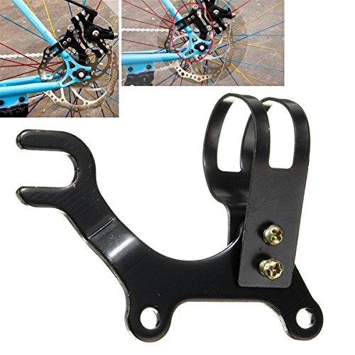 LaDicha Bicicleta Disco Freno Soporte Marco Adaptador para 160 Mm Rotor Bicicleta Componentes