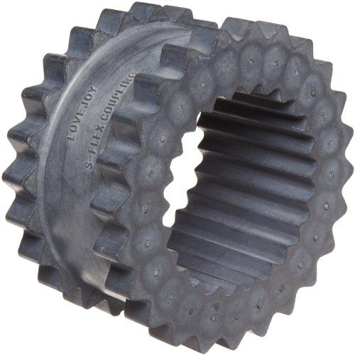 Lovejoy - 68514436405 36405 Size 9JE Solid Design S-Flex Coupling Sleeve, EPDM Rubber, 6