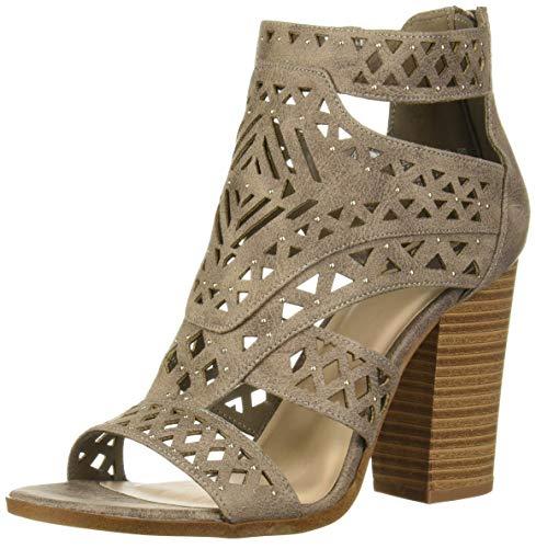 Fergalicious Women's Vellum Heeled Sandal, Doe, 6.5 M M US