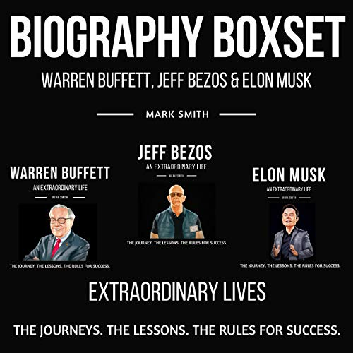 Biography Boxset: Elon Musk, Jeff Bezos & Warren Buffett  By  cover art