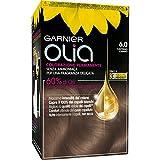 Coloración permanente y decoloración Garnier Olia 6.0 Castano Chiaro