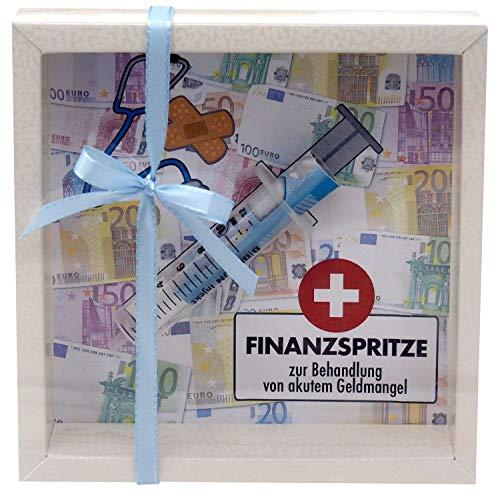 ZauberDeko Geldgeschenk Verpackung Finanzspritze Geld Zuschuss Lustig Gutschein Geburtstag