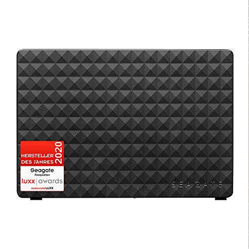 Seagate Expansion Desktop, externe Festplatte 16 TB, 3.5 Zoll, USB 3.0, PC & Notebook, inkl. 2 Jahre Rescue Service, Modellnr.: STEB16000402