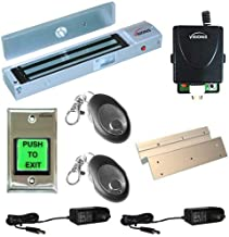 FPC-5013-VS One door Access Control Visionis Inswinging door 600lbs Electromagnetic lock kit with wireless receiver and remote kit