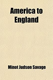 America to England; And Other Poems