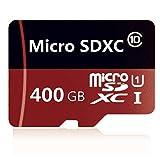Tarjeta Micro SD de 128GB / 256GB / 400GB / 512GB / 1024GB Tarjeta de Memoria Flash de Clase 10 TF Tarjeta Micro SDXC SDHC con Adaptador (400GB)