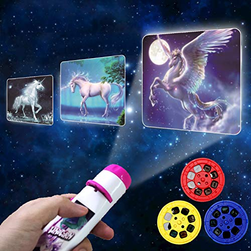 Toys Gifts for 1 2 3 4 5 6 Year Old Girls Boys, Kids Torch Projector Toy for...