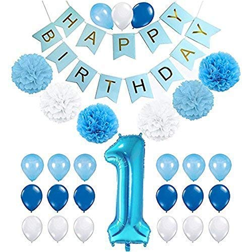 1st Birthday Decorations Boy Amazon Co Uk