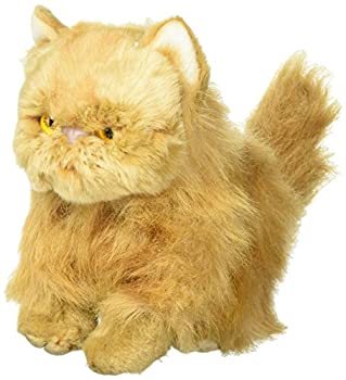 Nat and Jules Small Persian Cat Friend Muted Orange Children s Plush Stuffed Animal Toy