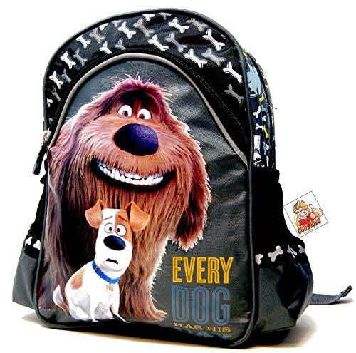 The Secret Life of Pets Duke & Max Every Dog Has his Day - Mochila de guardería para la fiambrera o botella de agua