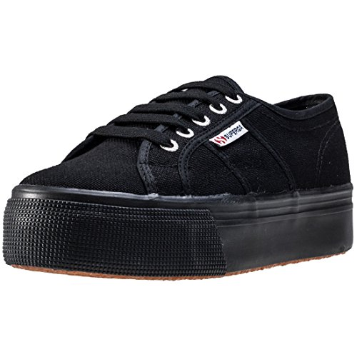 Superga Damen 2790acotw Linea Up and Down Sneaker, Schwarz (996), 38 EU