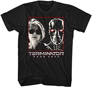 TERMINATOR ターミネーター (ニュー・フェイト公開記念) - DARK FATE SARAH & REV9 / Dark Fate(ニュー・フェイト) / Tシャツ/メンズ 【公式/オフィシャル】