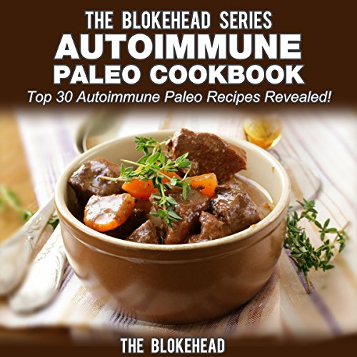 Autoimmune Paleo Cookbook audiobook cover art